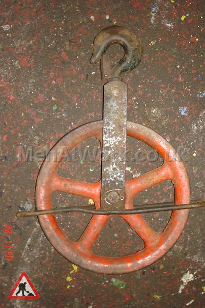 Block and Tackle Wheels - 12 inch wheel