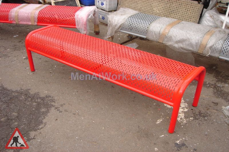 Metal Benches - 2 Seater 2 Available