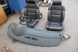 2 Seats, Dash and Steering Wheel - 2 Seats, Dash and Steering Wheel