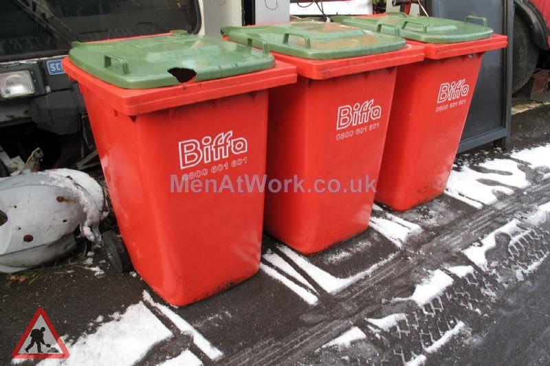 Industrial Wheelie bins - 3 Available