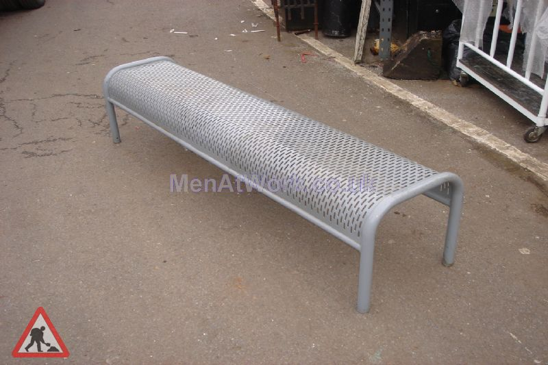 Metal Benches - 3 Seater 3 Available