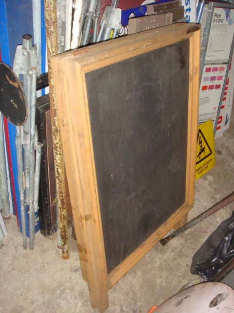 A Frame - Woodern & Blackboard