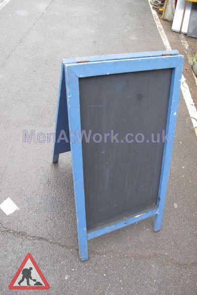 A Frame - Blue ( front )