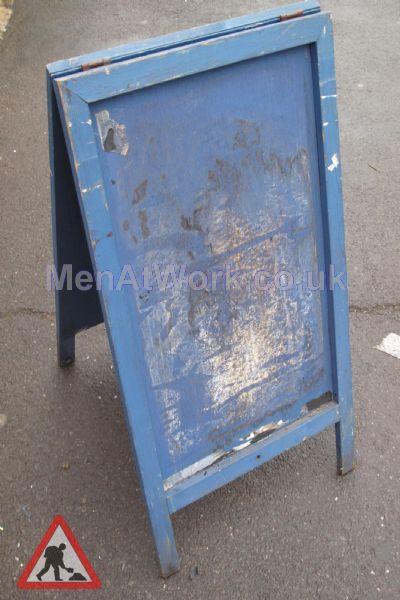 A Frame - Blue (back)