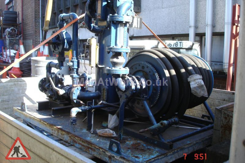 Aircraft Fuelling Pump - Aircraft Fuelling Pump ( Side View )