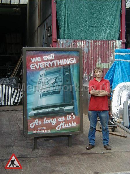 Adshell Advert Panel - Adshel advert panel 2