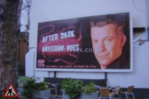 Advertising Billboard - Front View
