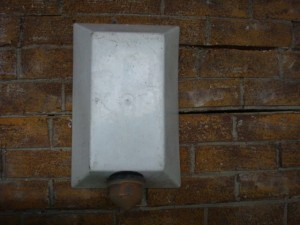 Alarm Boxes – White - Alarm Boxes With Yellow Light