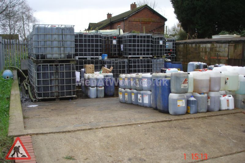 Assorted Liquid Containers - Assorted Container's