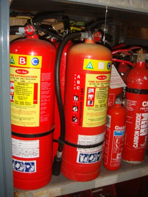 Fire Extinguisher - Assortment Of Extinguishers (2)
