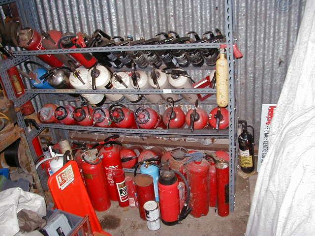 Fire Extinguisher - Assortment Of Extinguishers