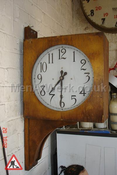 Wall Mounted Clock - B Dia = 300mm