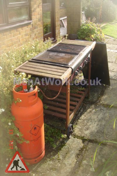 Gas BBQ - Setup