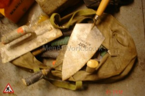 Brickies Bag - BRICKIES BAG AND TROWELS