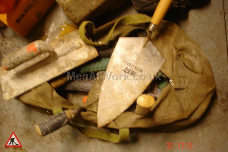 Brickies Bag - BRICKIES BAG AND TROWELS