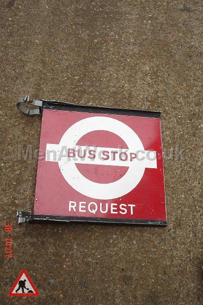 Bus Stop Flags - BUS STOP REQUEST FLAG