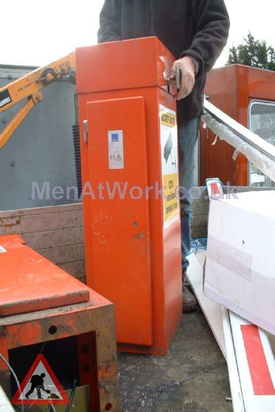 Barrier Control Boxes - Orange