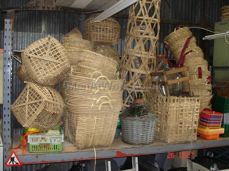 Wicker Basket - Baskets Various