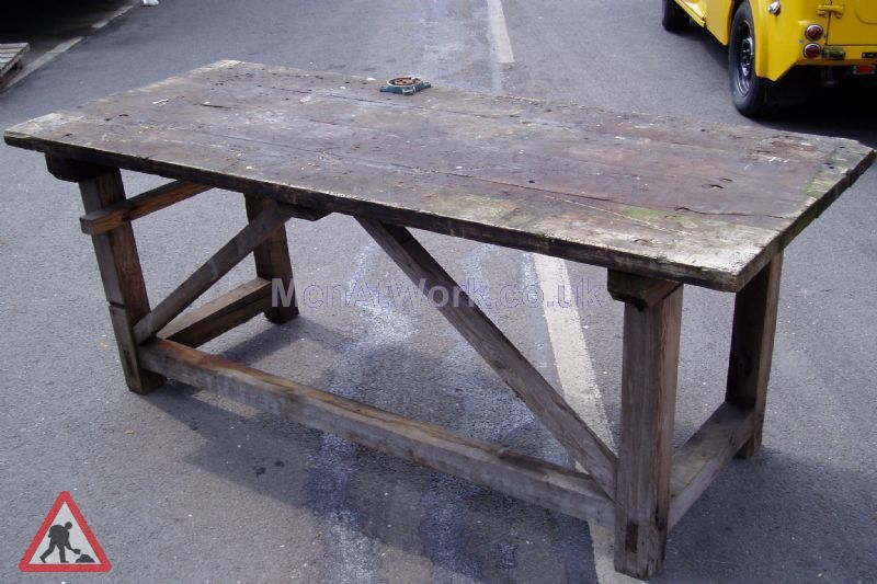 Wooden tables - Bench 1