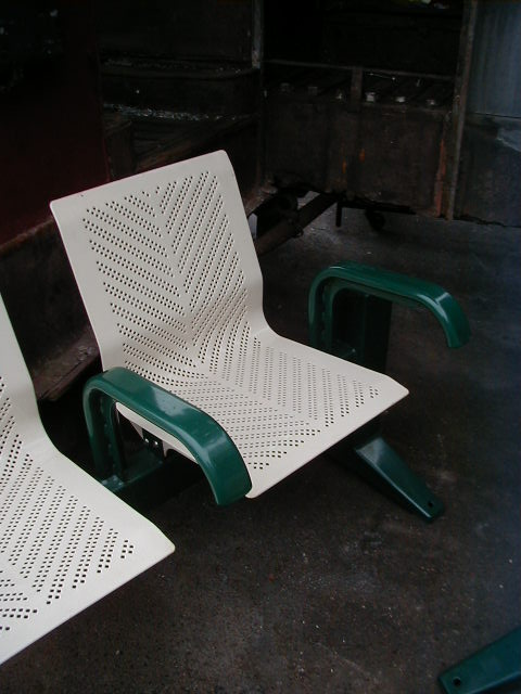 Station Benches - Close up