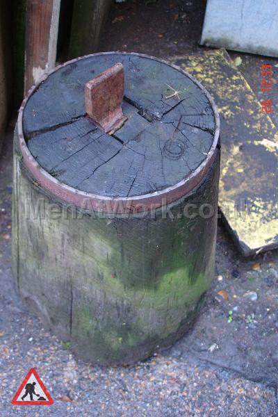 Blacksmith Block - Blacksmiths Wooden Block
