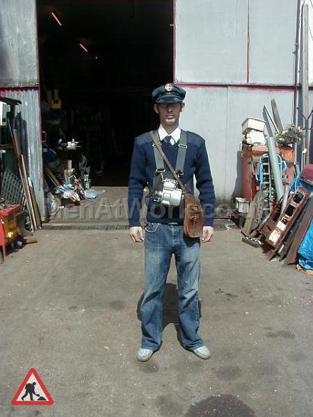 Bus Driver Uniform - Blue Uniform (4)