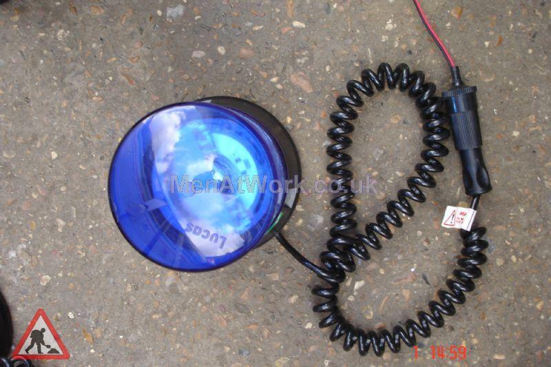 Magnetic Car Flashing Lights - Blue light