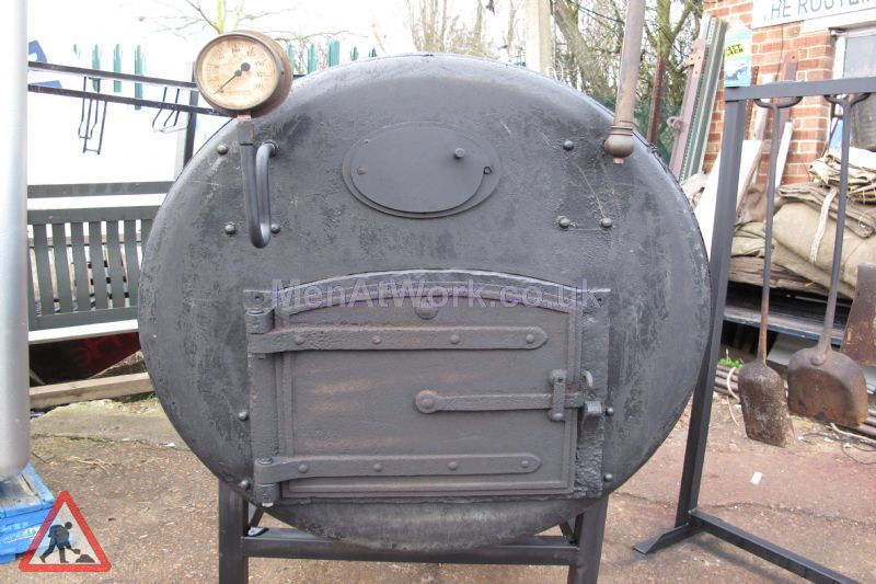 Period Boilers - Front view