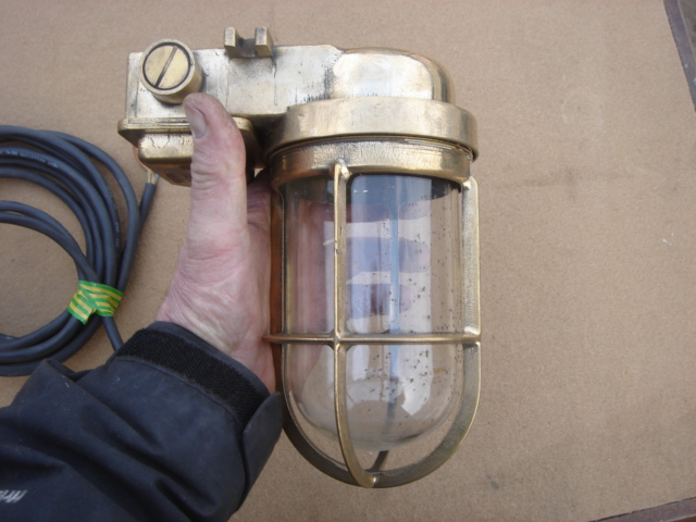 Brass Caged Light - Brass Caged Light
