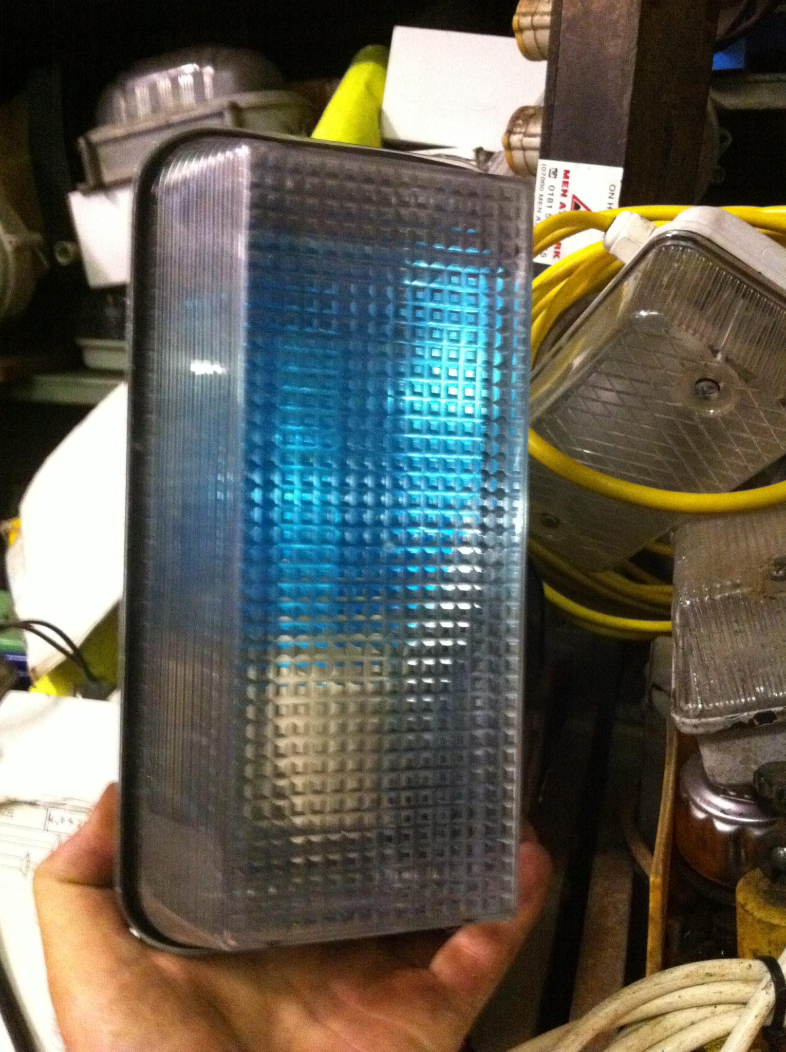 Bulk Head Light - Bulk Head Light Rectangle