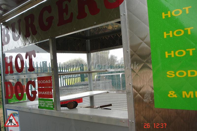 Fastfood Stand – Burgers / Hot Dog - Interior
