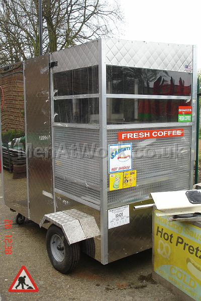 Fastfood Stand – Burgers / Hot Dog - Rear