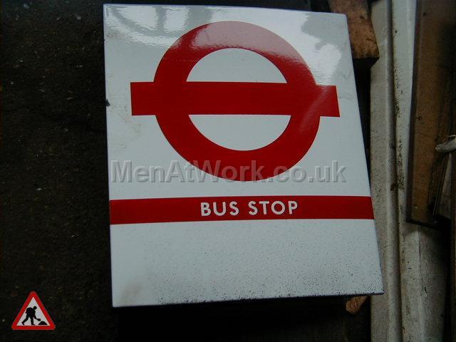 Bus Stop Flags - Bus stop 1 flag b