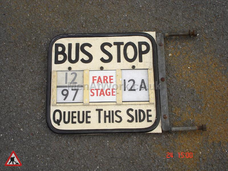 Various Bus Stop Signs - Bus stop signs (10)