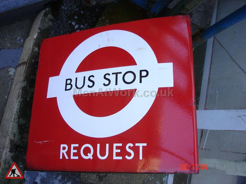Various Bus Stop Signs - Bus stop signs (12)