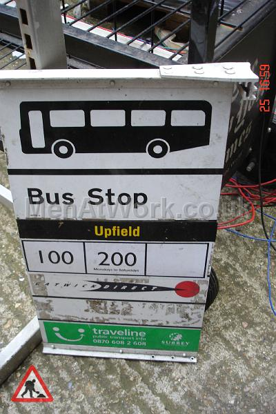 Various Bus Stop Signs - Bus stop signs (13)