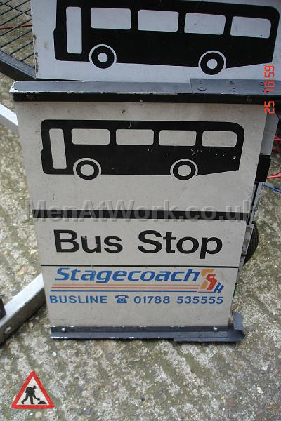Various Bus Stop Signs - Bus stop signs (14)