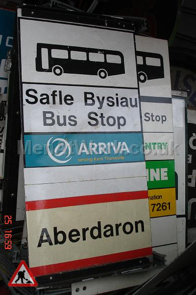 Various Bus Stop Signs - Bus stop signs (15)