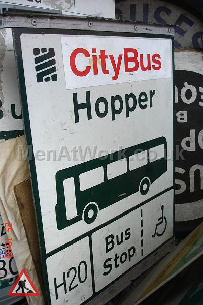 Various Bus Stop Signs - Bus stop signs (16)