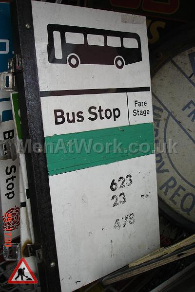 Various Bus Stop Signs - Bus stop signs (19)