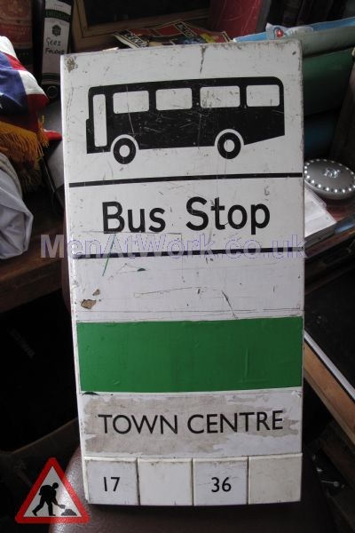 Various Bus Stop Signs - Bus stop signs (2)