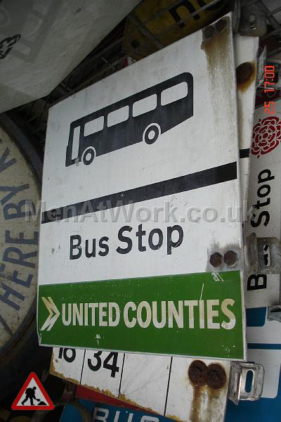 Various Bus Stop Signs - Bus stop signs (20)