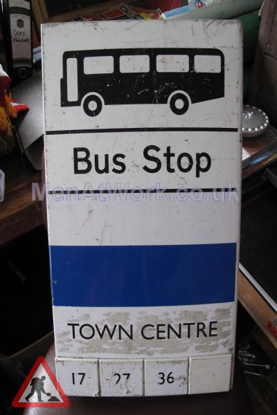 Various Bus Stop Signs - Bus stop signs (3)