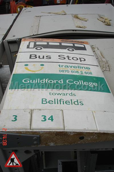 Various Bus Stop Signs - Bus stop signs (5)