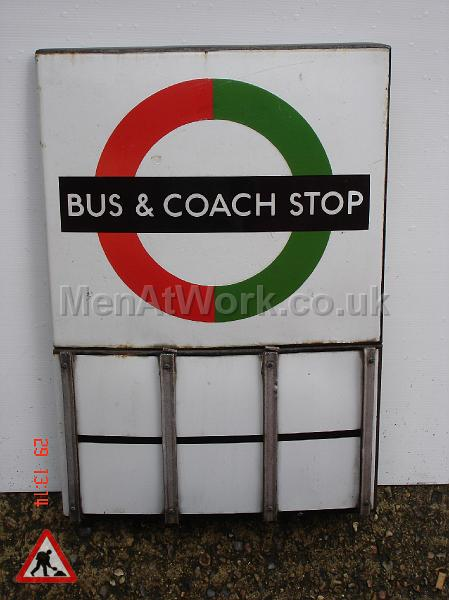 Various Bus Stop Signs - Bus stop signs (7)