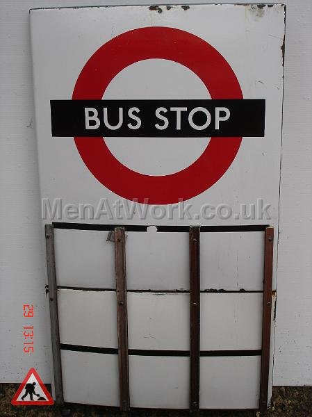 Various Bus Stop Signs - Bus stop signs (8)