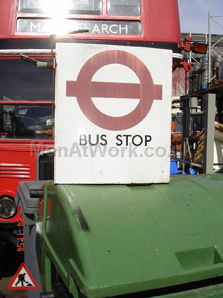 Various Bus Stop Signs - Bus stop signs (9)