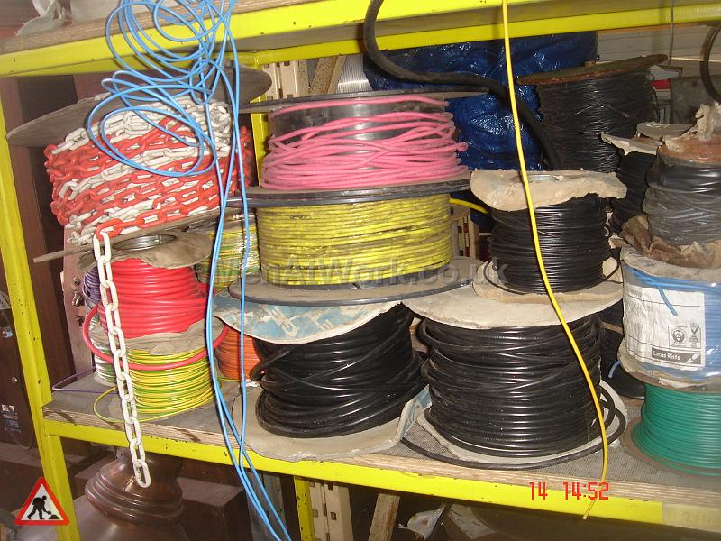Assorted Cables and Drums - CD2