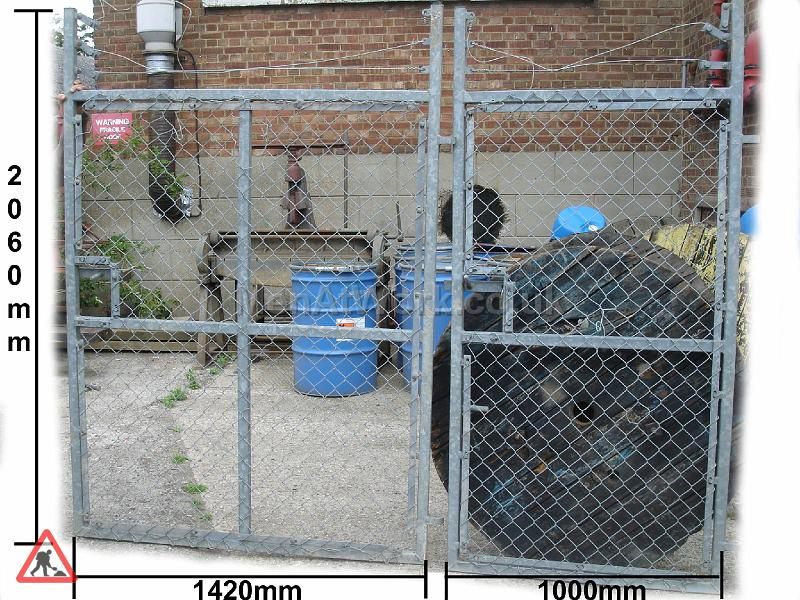 Chain Link Fence - CHAINLINK GATE MEASUREMENTS