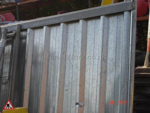 Corrugated Fence Panels - CS 1